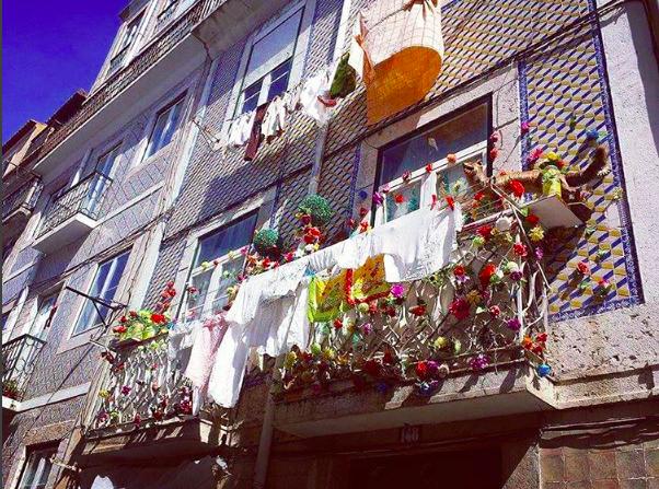 Balcon décoré - Adeo