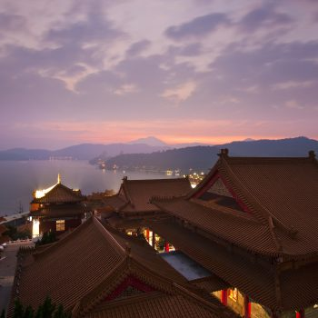 Taiwan,  Sun Moon Lake, Wen Wu temple